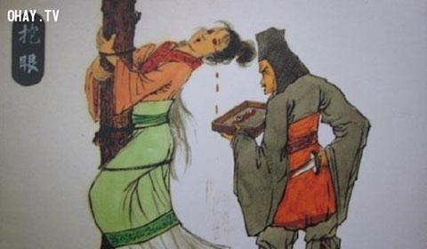5 kiểu tra tấn tàn bạo đối với phụ nữ ngoại tình ở Trung Quốc thời xưa