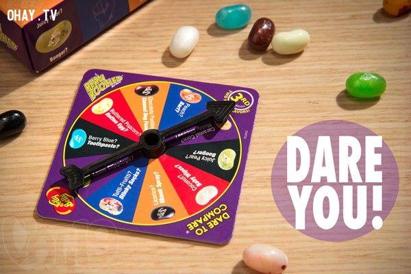 ảnh Bean Boozled,Bean Boozled Challenge,thử thách ăn kẹo thối,trào lưu,kẹo thối