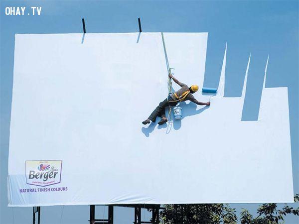 ảnh quảng cáo hay,quảng cáo sáng tạo,sáng tạo,biển quảng cáo