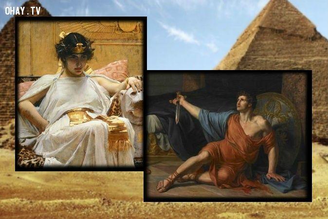 Bí ẩn về mối tình Cleopatra và Antony
