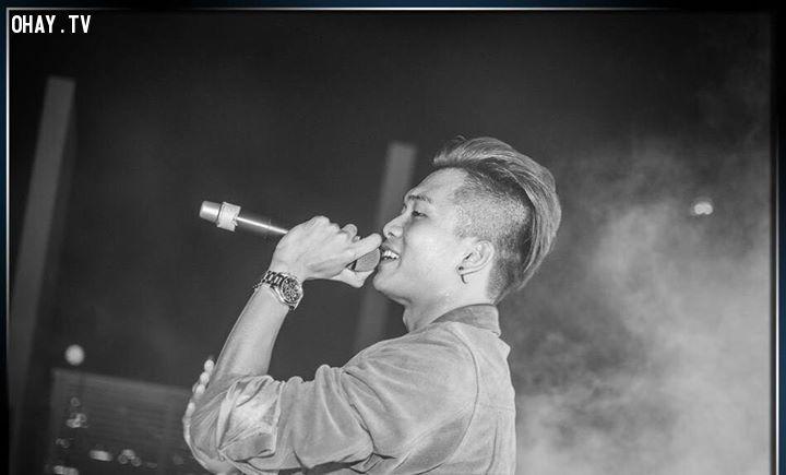 ảnh rapper,rapper việt nam,top rapper,rapper được yêu thích nhất,bảng xếp hạng rapper,âm nhạc việt nam,ca sĩ việt