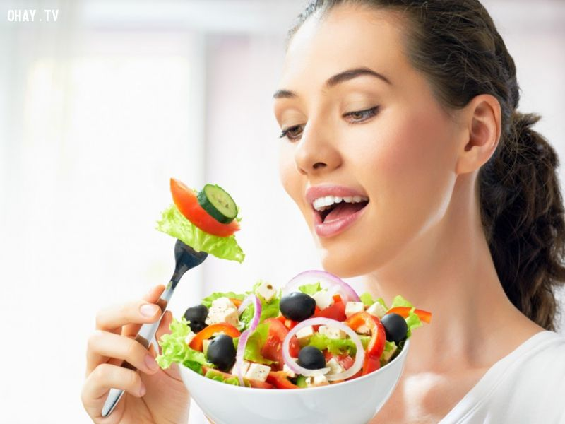 Chế độ ăn tốt cho sức khỏe