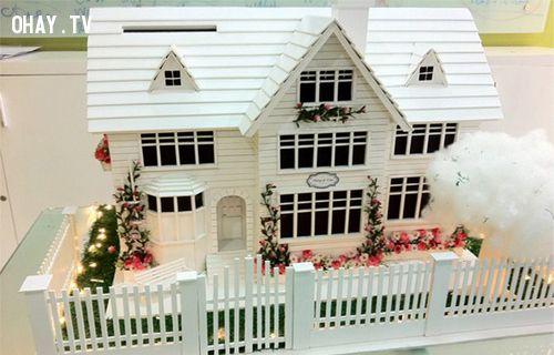 quà handmade, handmade, lãng mạn, tình cảm chân thành, phát sáng , món quà, nhà handmade, nhà, tình yêu