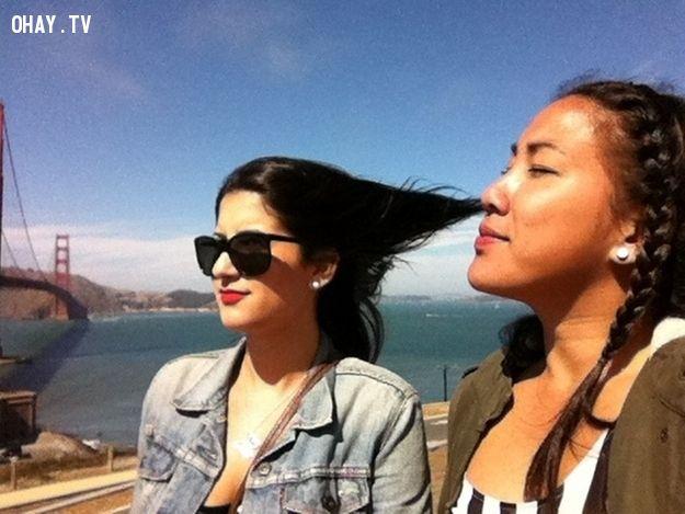 khí công, gió mạnh, hít thở,du lịch biển, cảnh giác