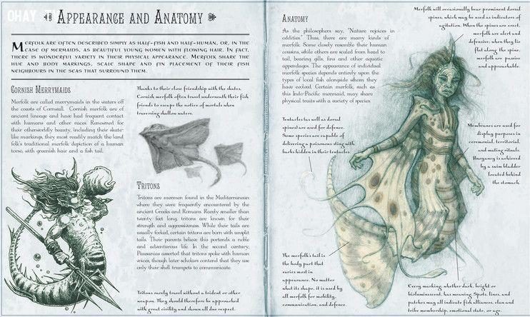 Finfolk được mô tả trong sách