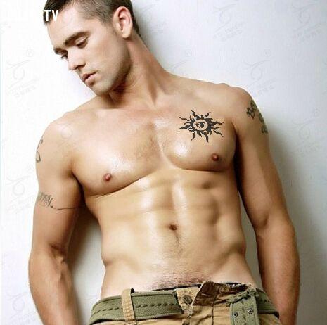 Hình xăm ngực nam đẹp, chất lừ
