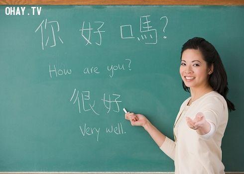 Tiếng Trung là một ngôn ngữ phổ biến nhưng khó học
