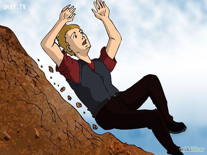 ảnh kỹ năng sống sót,kỹ năng sinh tồn,kỹ năng sống,bị ngã từ trên cao