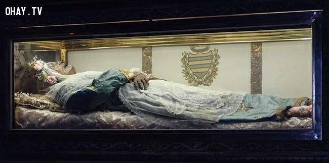 ảnh xác chết,không phân hủy,Catherine Laboure,La Doncella,Benita Zita,Itigilov,Xin Zhui,xác chết không phân hủy,có thể bạn chưa biết