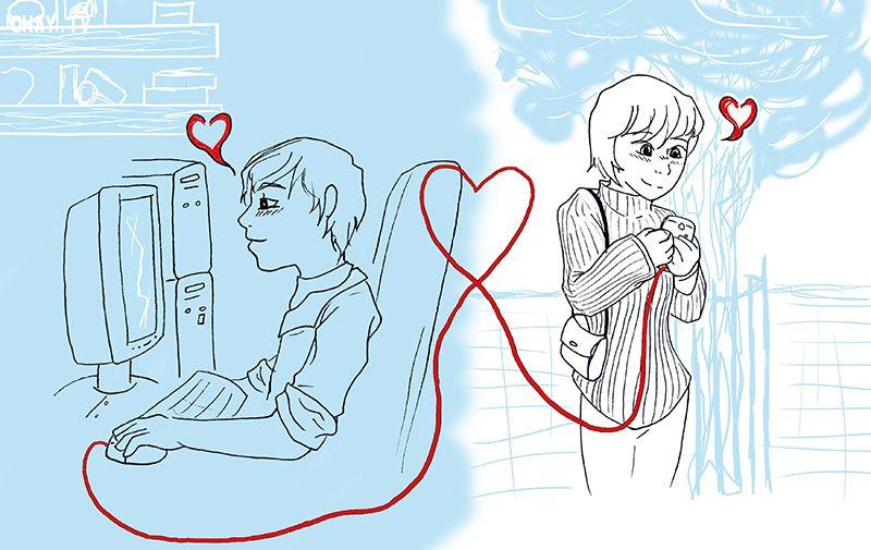 tình yêu internet - những mặt trái