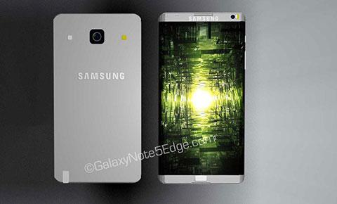 Xuất hiện hình ảnh của chiếc Galaxy Note 5 Edge