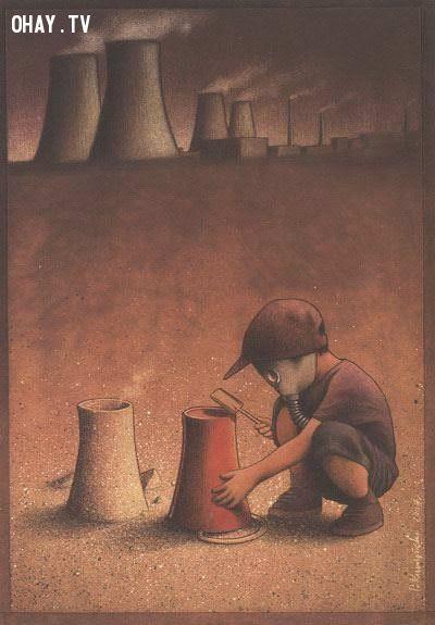 ảnh suy ngẫm,nghệ thuật,Pawel Kuczynski,tranh biếm họa,ảnh biếm họa,ảnh nghệ thuật