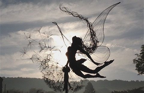Chiêm ngưỡng tác phẩm bồ công anh thần tiên trong gió đầy ngoạn mục!