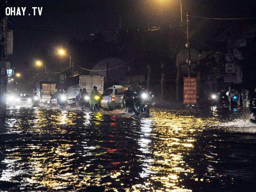 Ngập lụt ở thành phố Hồ Chí Minh