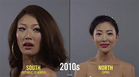 Sự thay đổi trong xu hướng làm đẹp của phụ nữ Hàn Quốc 100 năm qua