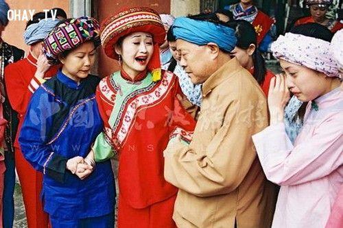 Phong tục cưới Trung Quốc khóc khi cưới
