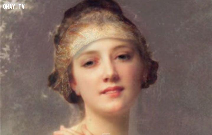 ảnh phụ nữ,vẻ đẹp phụ nữ,phụ nữ 500 năm qua,hội họa,chân dung phụ nữ