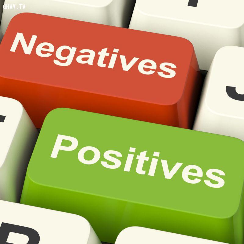 ảnh người tích cực,người tiêu cực,sự khác nhau,sự khác biệt,thành công,cố gắng,suy nghĩ tích cực,suy nghĩ tiêu cực