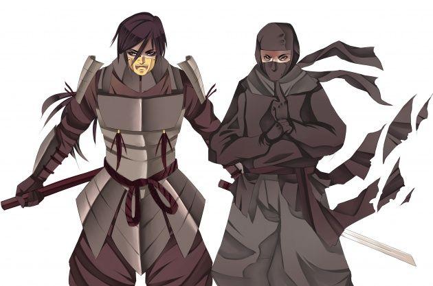 ảnh ninja,samurai,sự khác nhau,văn hóa nhật bản,nhật bản