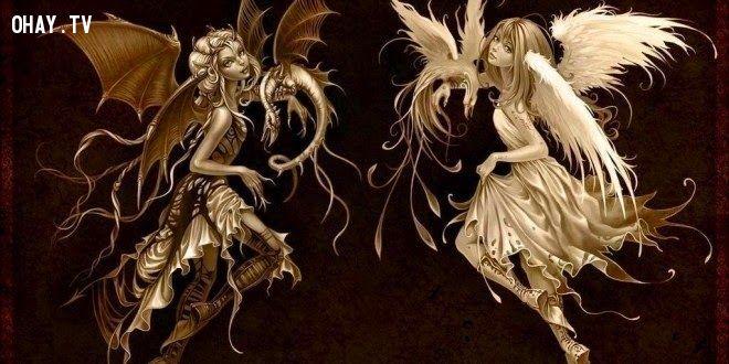 Trong mỗi con người đều có thiên thần và ác quỷ