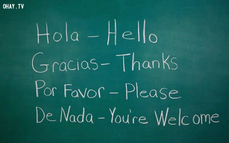 Tiếng Tây Ban Nha dễ học và phổ biến