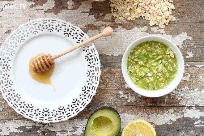 Trị mụn hiệu quả bằng quả bơ avocado
