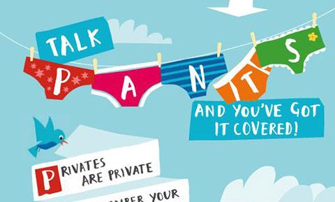 """5 Quy tắc \""""PANTS\"""" về trẻ em và quyền riêng tư"""