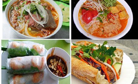 Những Món Ăn Việt Nam Nổi Tiếng Thế Giới