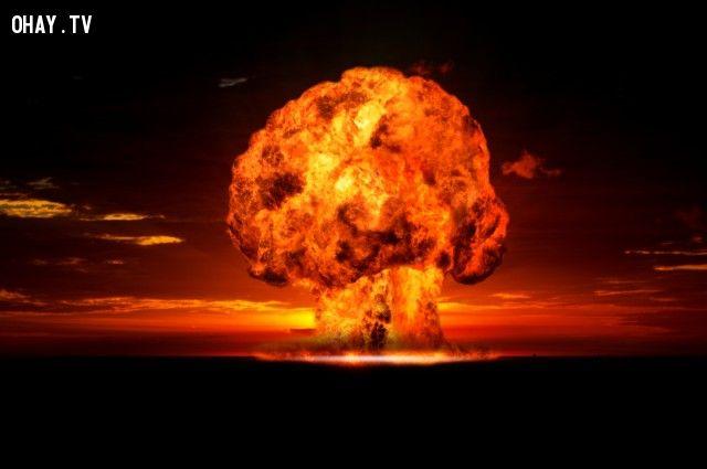 ảnh Starfish Prime,bom nguyên tử