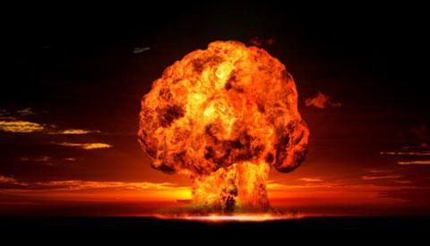 Bom nguyên tử nổ trong không gian như thế nào?