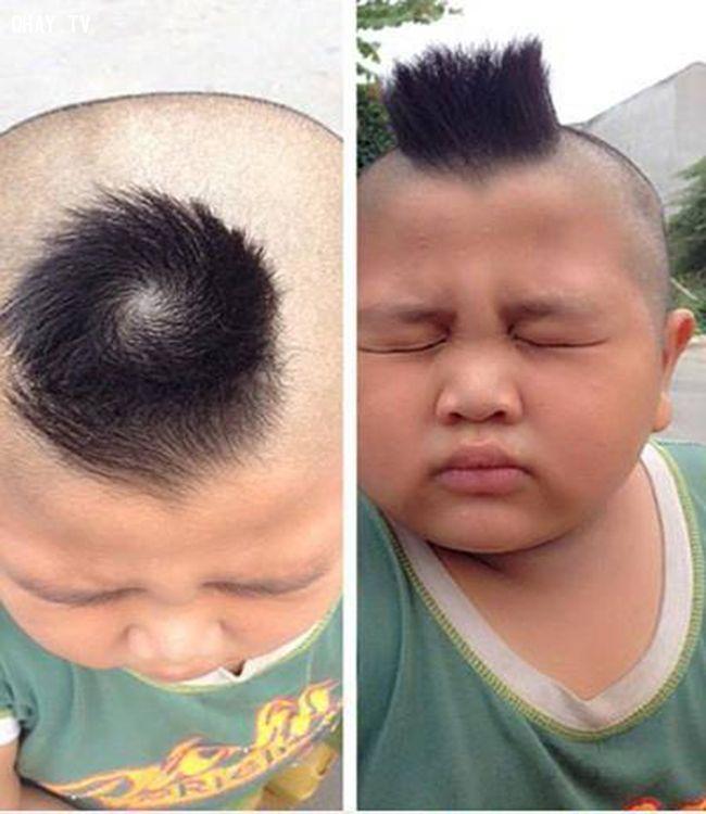 Xem xoáy tóc đoán tính cách con người
