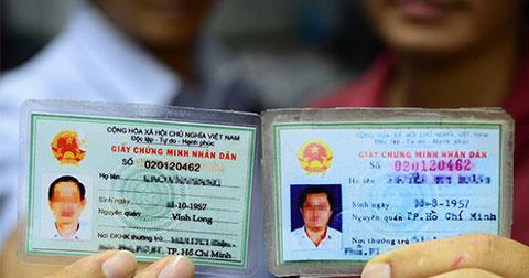 7200 người hoang mang vì bị trùng số CMND tại TP.HCM