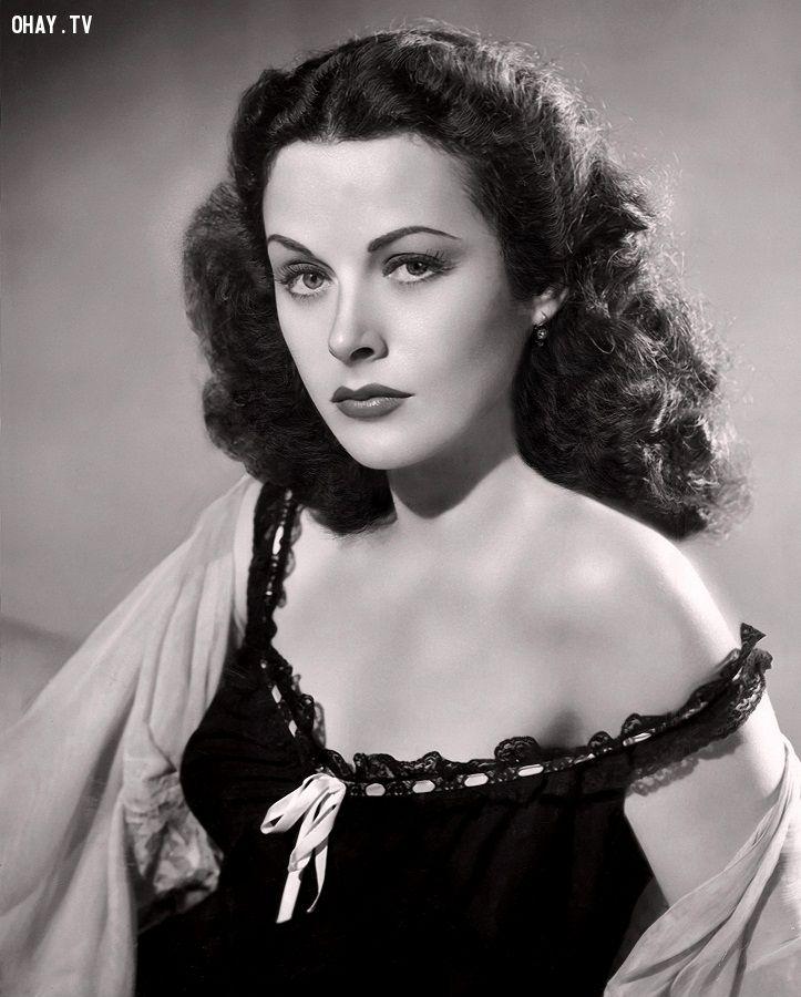 ảnh Hedy Lamarr,Clark Gable,minh tinh