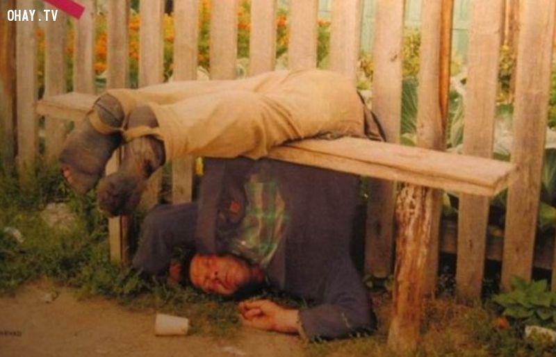 ảnh say rượu