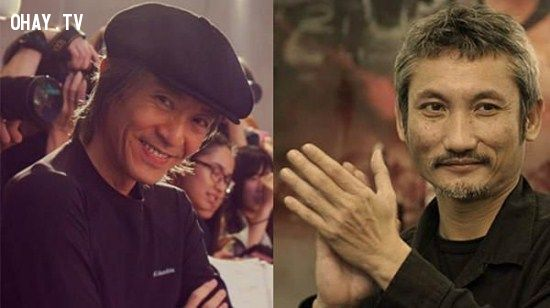 Châu Tinh Trì (trái) giao quyền đạo diễn cho Từ Khắc (phải)