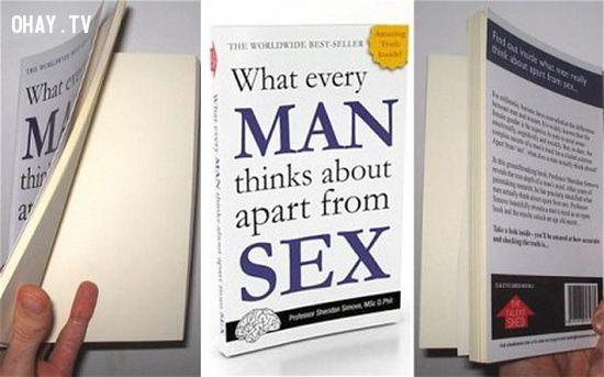 ảnh sách trắng tinh,sách bán chạy,đàn ông,đàn ông nghĩ gì về sex,sách về đàn ông