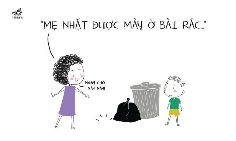 Hóa ra chúng ta sinh ra từ bãi rác