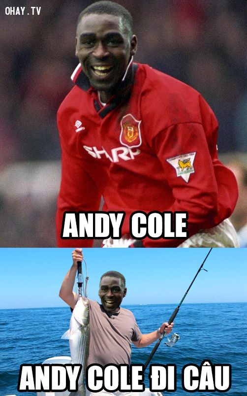 Cầu thủ: Andy Cole