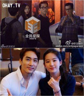 ảnh Song Seung Hun,Lưu Diệp Phi,hẹn hò