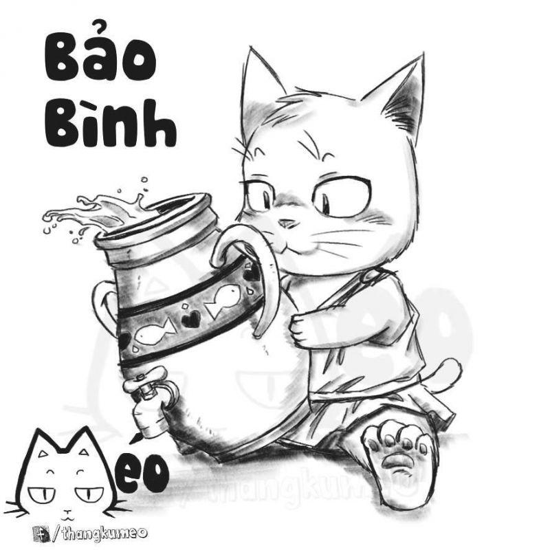 ảnh mèo,cung hoàng đạo