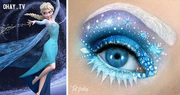 ảnh sáng tạo,trang điểm,nghệ thuật trang điểm,Tal Peleg,vẽ mắt,vẽ mắt nghệ thuật