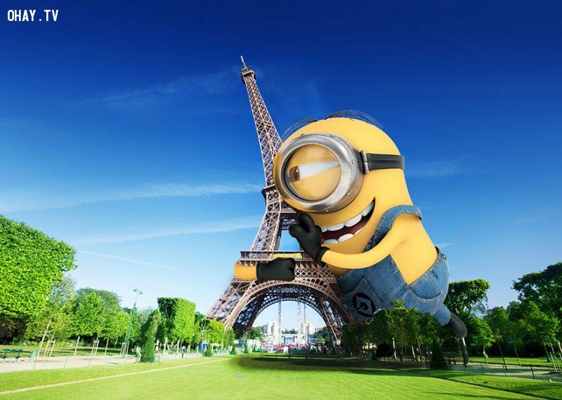 Chùm ảnh Minions du lịch vòng quanh thế giới