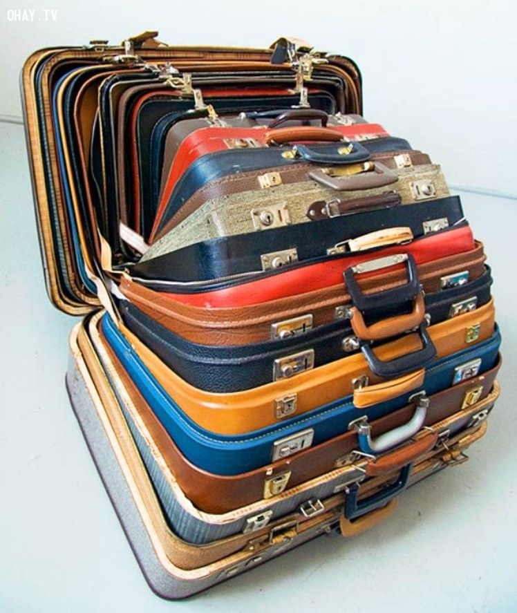 Những chiếc vali lồng vào nhau