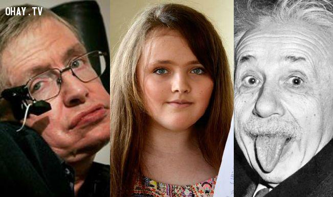 ảnh thông minh,thông minh nhất thế giới,IQ cao nhất thế giới,einstein