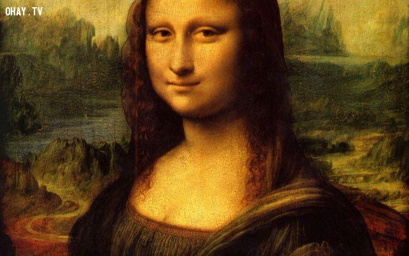 ảnh Leonardo Da Vinci,Mona Lisa,có thể bạn chưa biết