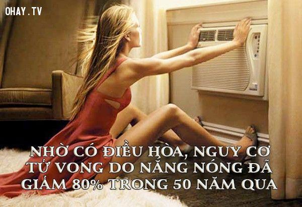 Điều hòa làm giảm nguy cơ tử vong do nắng nóng
