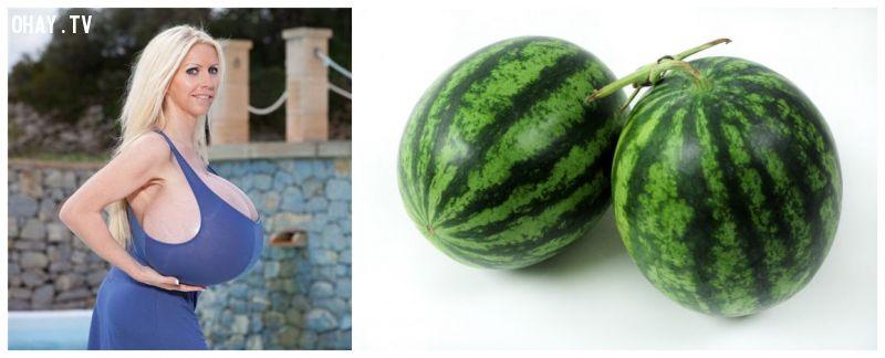 ảnh vòng 1,phái đẹp,phụ nữ,trái cây,vòng một