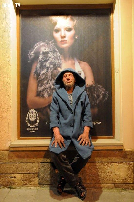 ảnh vô gia cư,thời trang,Slavik,Ukraine