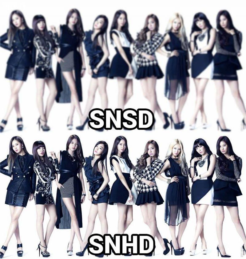 Nhóm nhạc: SNSD