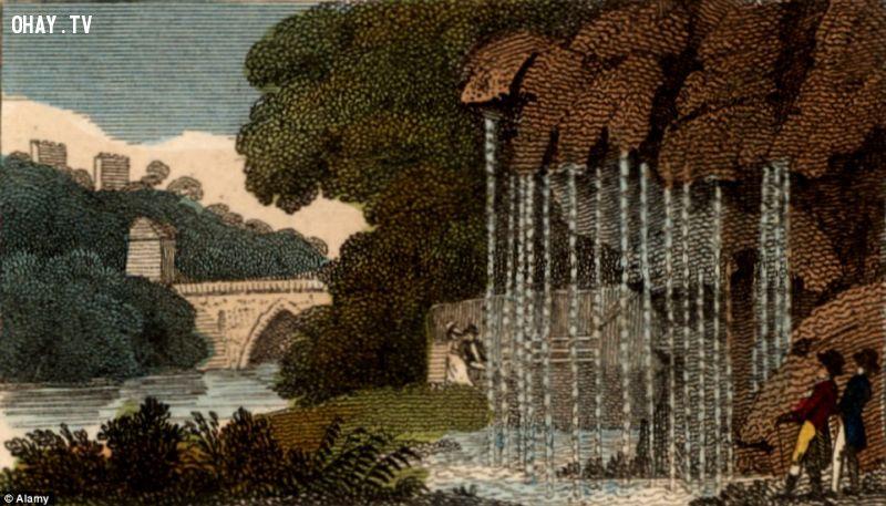 ảnh Yorkshire,suối nước,suối nước kì lạ,nguyền rủa,Petrifying,suối nước Petrifying